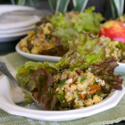 Chickpea Salad With Apples and Pecans