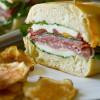 Pressed Italian Picnic Sandwich