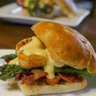 Scallop Bacon Burger