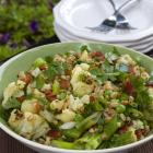 Farro Cauliflower Bacon Salad