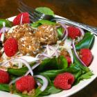 Cheese Ball Basil Salad