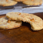 Toffee Butterscotch Shortbread Cookies