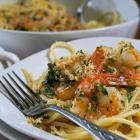 Herbed Shrimp and Pasta with Crispy Crumbs
