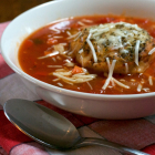French Bread Tomato Soup