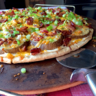 Potato Skin Pizza