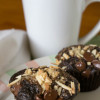 Chocolate Almond Espresso Muffins