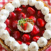 Pretzel Crust Strawberry Pie