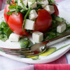 Caprese Spinach Stuffed Tomato