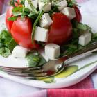 Caprese Spinach Stuffed Tomato