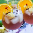 Pomegranate Moscato Sangria