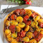 Upside Down Tomato Tart