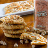 Bakery Style Salted Caramel Cookies