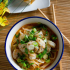 Sriracha Shrimp Noodle Bowl