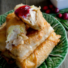 Thanksgiving Egg Rolls