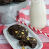 Dark Chocolate Pistachio Slice and Bake Cookies