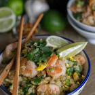 Spicy Shrimp Cauliflower Fried Rice