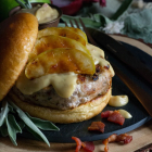 Bacon Apple Chicken Burger