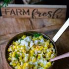 Cheesy Street Corn Casserole