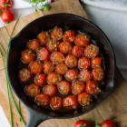 Balsamic Honey Glazed Cherry Tomatoes