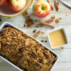 Apple Crisp Quick Bread