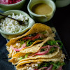 Instant Pot Dijon Pulled Chicken Tacos