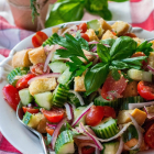 Summer's End Panzanella Salad