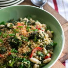Roasted Broccoli Barley Salad