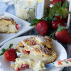 Fresh Strawberry Ricotta Scones