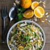 Orange Chicken Orzo Salad