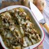 Philly Cheesesteak Lasagna Rolls