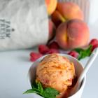 Raspberry Peach Sorbet