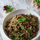 Cherry Pistachio Rice Quinoa Salad