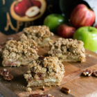 Pecan Apple Crisp Bars