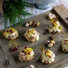 Cranberry Orange Pistachio Cookies