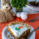 Carrot Walnut Pineapple Cake