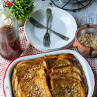 Overnight Toffee French Toast with Toffee Syrup