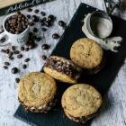 Espresso Ice Cream Sandwich Cookies