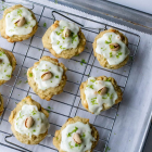 White Chocolate Pistachio Lime Cookies
