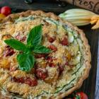 Italian Ricotta Zucchini Tart