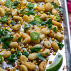 Roasted Gnocchi Street Corn