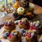 Cranberry Upside Down Mini Cakes