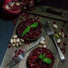 Pistachio Pomegranate Tarts