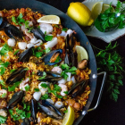 Easy Mixed Seafood Paella