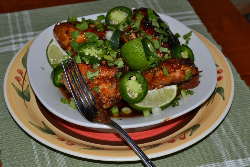 Spicy Honey Chicken