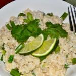 Creamy Coconut Cilantro Rice