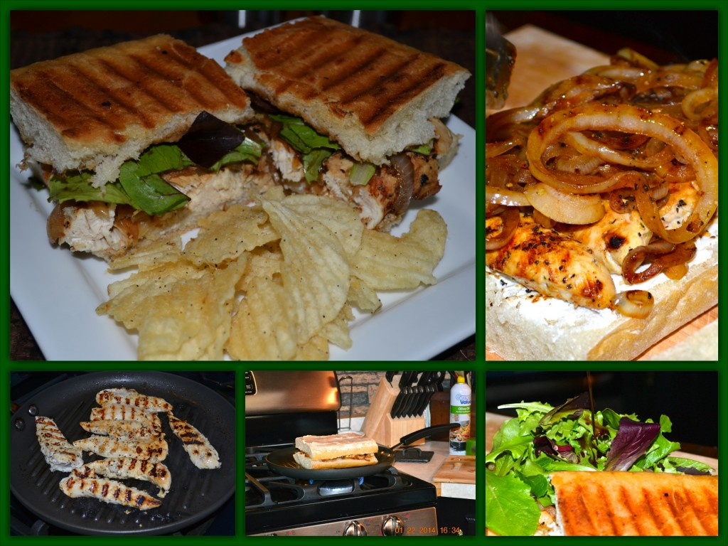 Lemon Pepper Chicken Panini_Collage