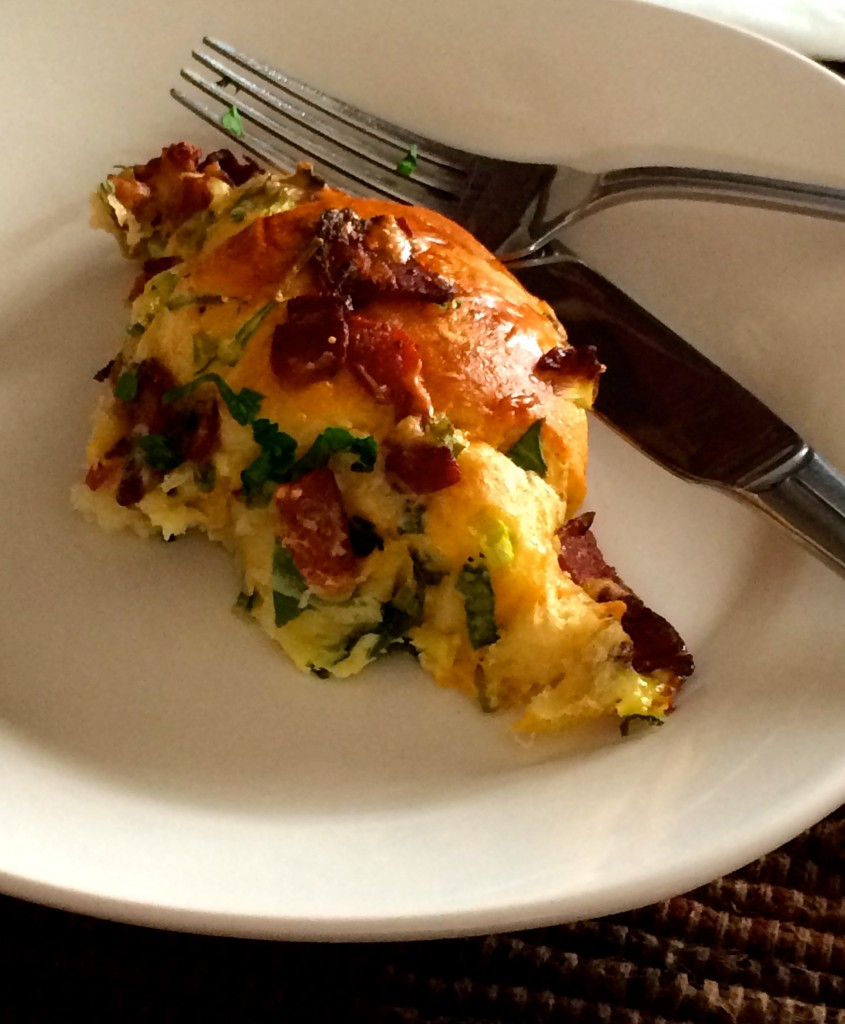 Smoked Bacon Breakfast Crescent