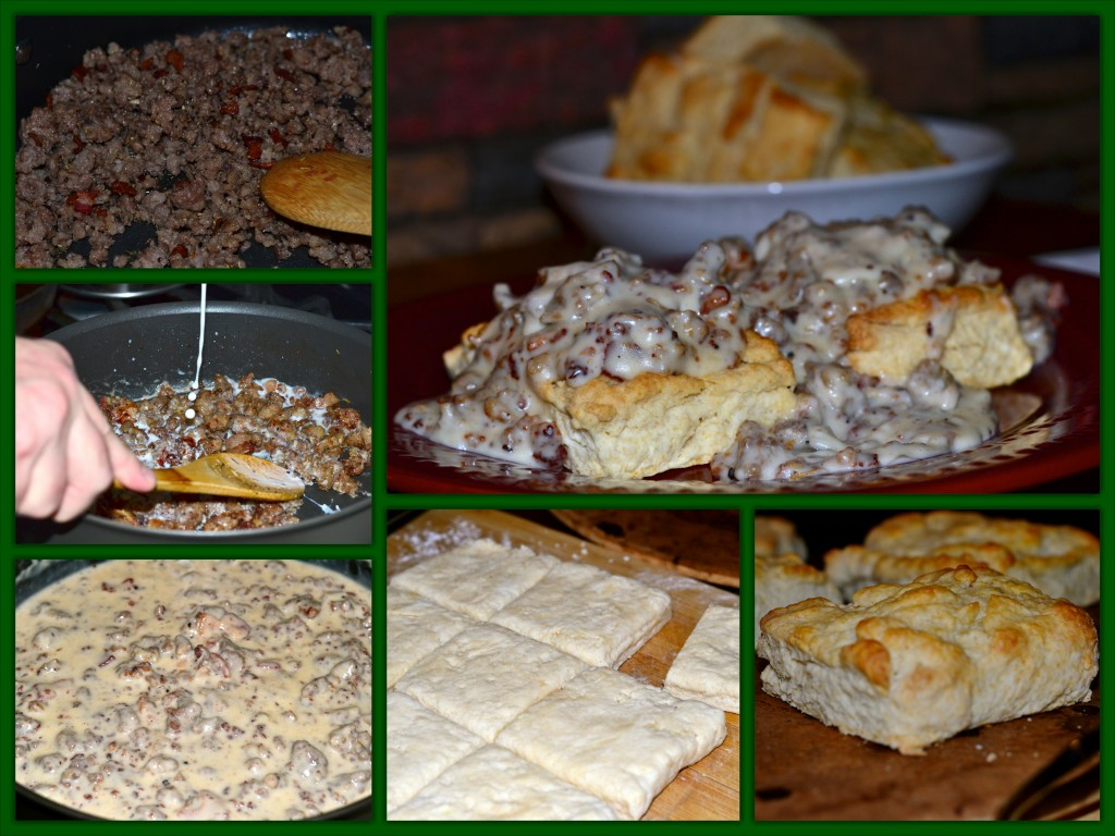 Biscuits & Gravy Collage
