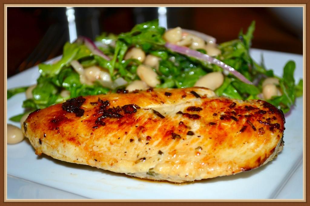 Chicken White Bean Salad