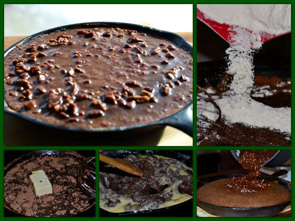 Cast Iron Cake Collage